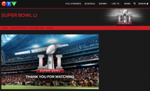 Superbowl contest site